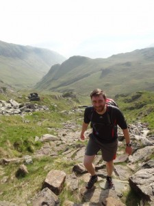 Fell run on Dove Crag