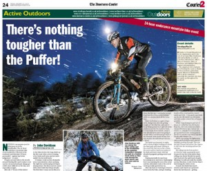 The article for Active Outdoors on my first Strathpuffer
