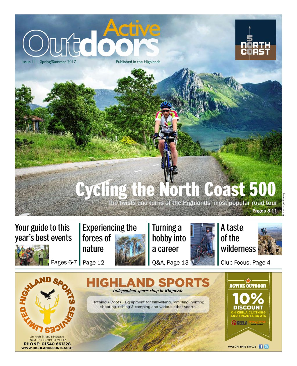 Read our latest Active Outdoors supplement online
