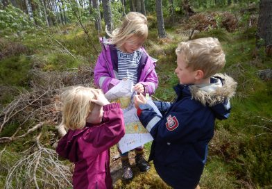 Set your compass for mini orienteering!