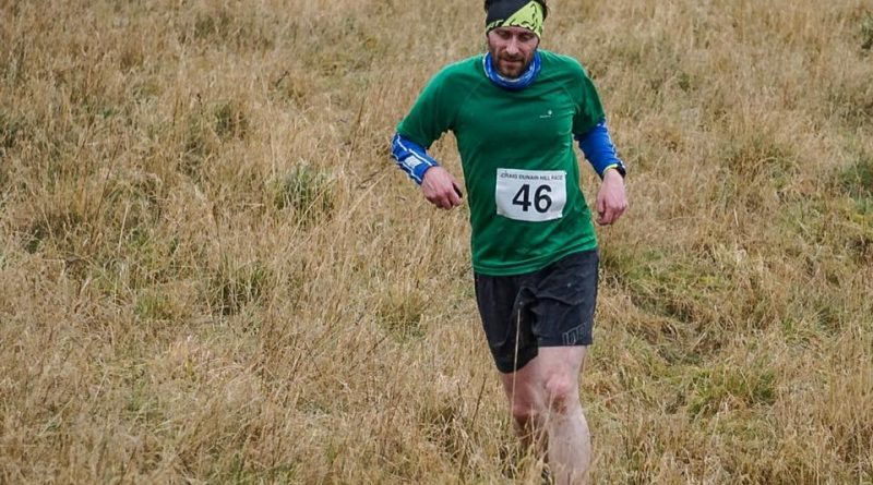 John on his way up during the 2019 Craig Dunain Hill Race. Picture courtesy of Phil Hindell/Highland Hill Runners