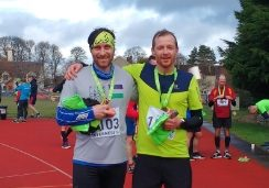 A cold and wet Inverness Half Marathon 2019