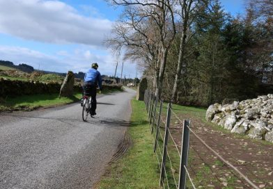 Away from the screen on Culloden cycle