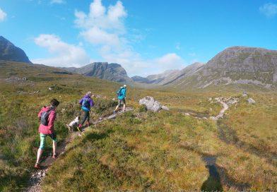 Striding high on Torridon's tremendous trail network