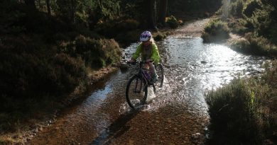 Family-friendly cycle from Aviemore to Loch an Eilein and Coylumbridge