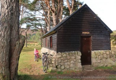 Cycle to Derry Lodge and Bob Scott's bothy