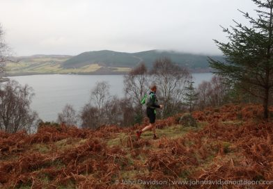 Running the South Loch Ness Trail from Foyers to Dores – a recce for the Loch Ness 360 Challenge