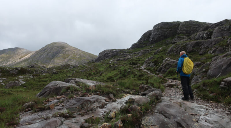The Coire Lair circuit from Achnashellach – a return to the mountains