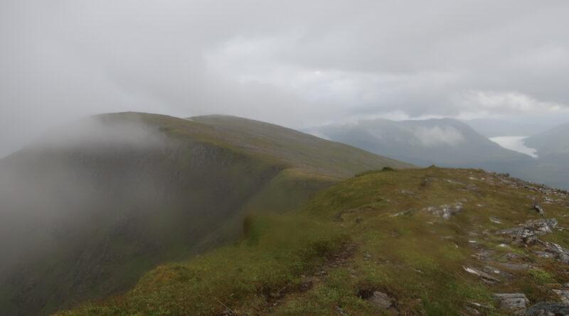 Beinn a'Chaorainn and Beinn Teallach – a circuit of two munros near Roybridge in the central Highlands